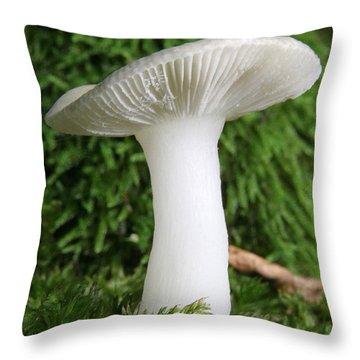 Glamis Toadstool Throw Pillow