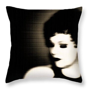 Glamour Of Days Gone By Throw Pillow by Lisa Knechtel