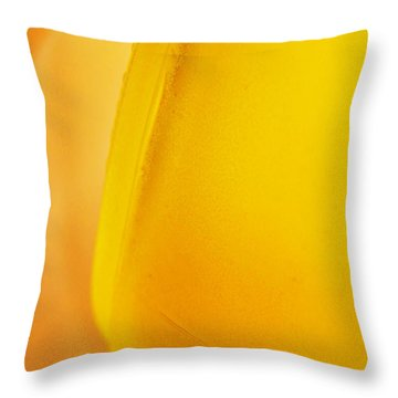 Glass Abstract 733 Throw Pillow by Sarah Loft