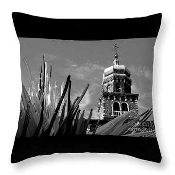 Glass And Brick Throw Pillow