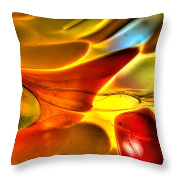 Glass And Light Throw Pillow