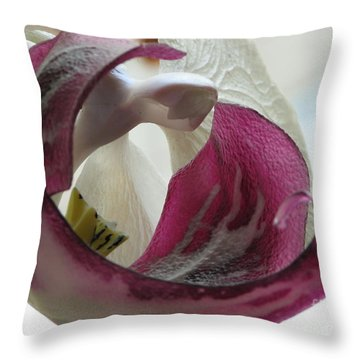 Glass Beauty Throw Pillow