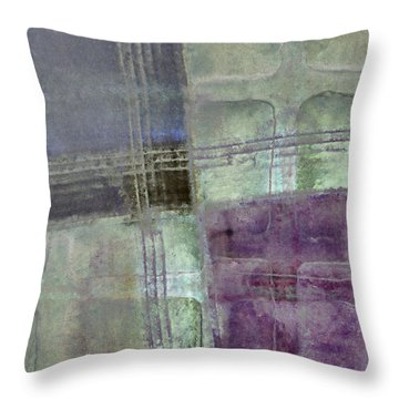 Glass Crossings Throw Pillow by Carol Leigh