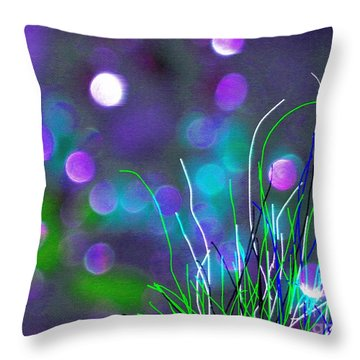 Throw Pillow featuring the photograph Glass Fields by Everette McMahan jr