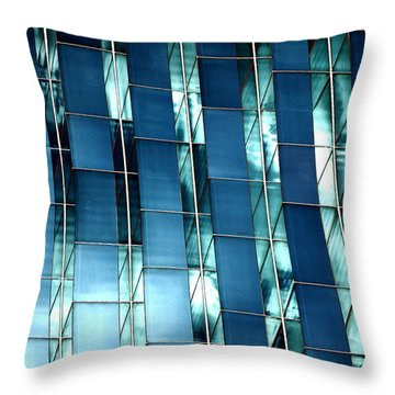 Glass House II Throw Pillow