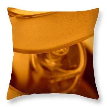 Glass Light Throw Pillow