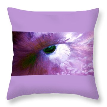 Phoenix Throw Pillow by Amar Sheow