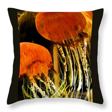 Glass No1 Throw Pillow