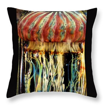 Glass No2 Throw Pillow