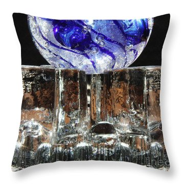 Glass On Glass Throw Pillow
