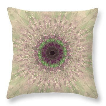 Glass Pieces  Throw Pillow