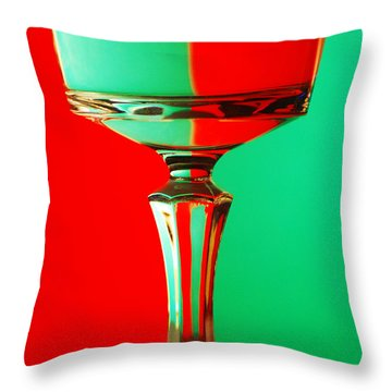 Glass Reflection Throw Pillow