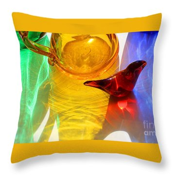 Glass Reflections #8 Throw Pillow