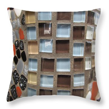 Glass Wall Throw Pillow