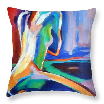 Gleam Throw Pillow