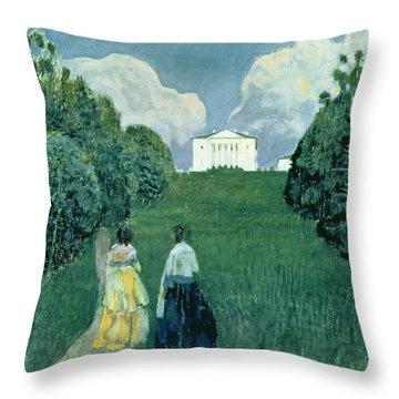 Gleam Of The Sunset, 1904  Throw Pillow
