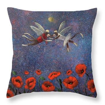 Glenda The Good Witch Has Flying Monkeys Too Throw Pillow