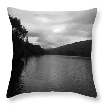 Glengarry's Loch Throw Pillow
