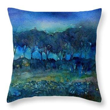 Glimmer Of Dawn  Throw Pillow by Trudi Doyle