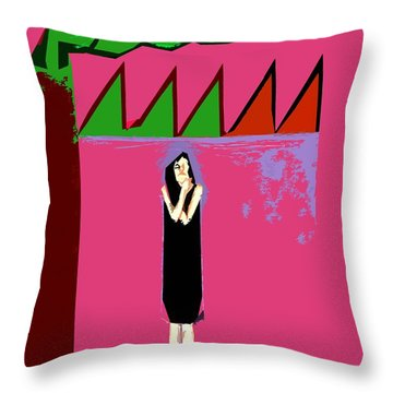 Global Warming Throw Pillow by Patrick J Murphy