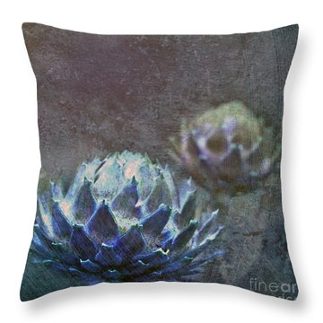 Globe Artichoke Throw Pillow