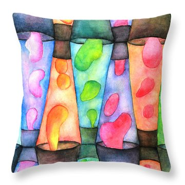 Globs Throw Pillow