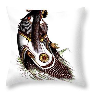 Glooscap Throw Pillow
