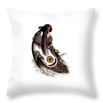 Glooscap Throw Pillow