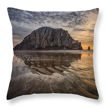 Glorious Throw Pillow by Alice Cahill