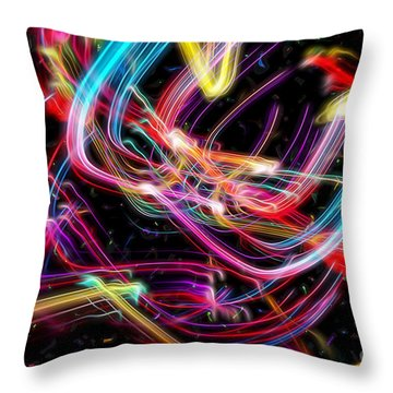Glorious Celebration Throw Pillow by Margie Chapman