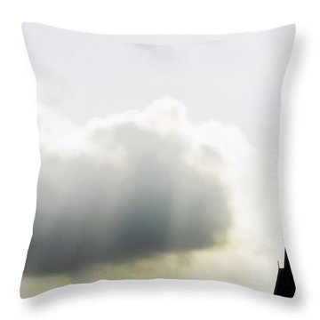 Throw Pillow featuring the photograph Glorious Day by Charlotte Schafer