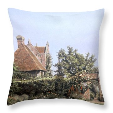 Glorious Gardens Throw Pillow