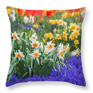 Glorious Spring Throw Pillow