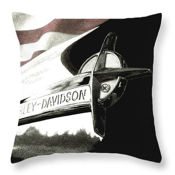 Glory And Power Throw Pillow