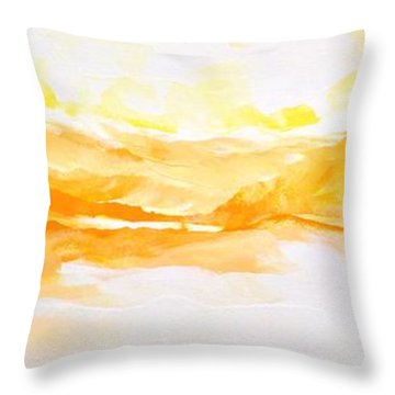 Glory Be Throw Pillow by Linda Bailey