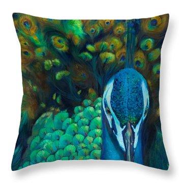 Glory Throw Pillow by Chris Brandley