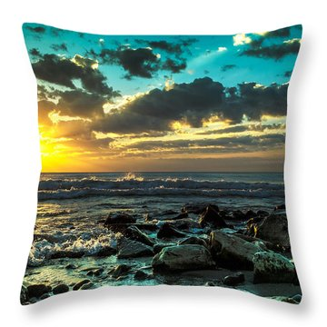 Glory Throw Pillow by James  Meyer