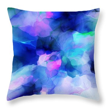 Throw Pillow featuring the digital art Glory Morning by David Lane