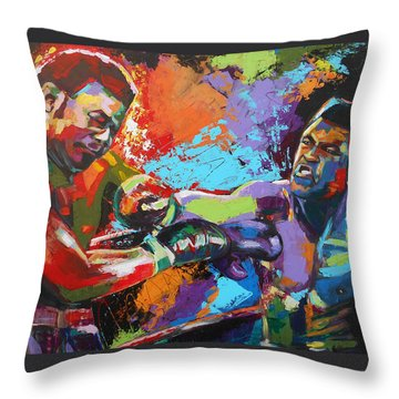 Glory Night Throw Pillow