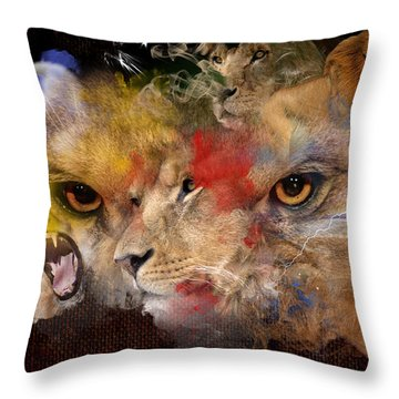 Glory Of The Beast Throw Pillow