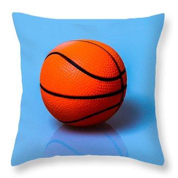 Glory To Basketball Throw Pillow by Alexander Senin