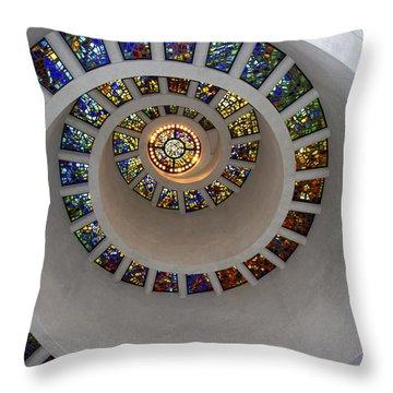 Glory Window Throw Pillow