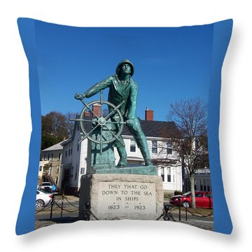 Gloucester Fisherman Throw Pillow