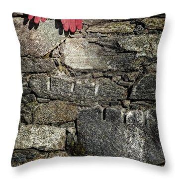 Gloves Throw Pillow by Joana Kruse