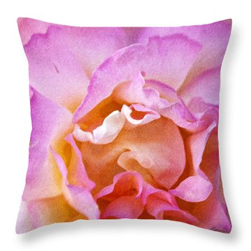 Glow From Within Throw Pillow by David Millenheft