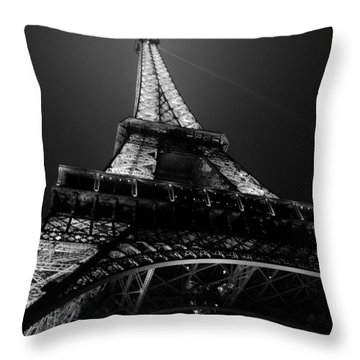 Glow Throw Pillow by Lisa Parrish