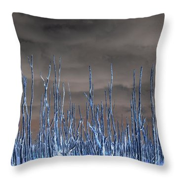 Glowing Trees 1 Throw Pillow