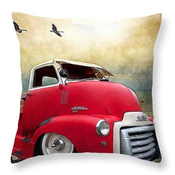 Gmc 350 Throw Pillow by Liane Wright