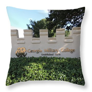 Gmc Milledgeville Throw Pillow by Aaron Martens