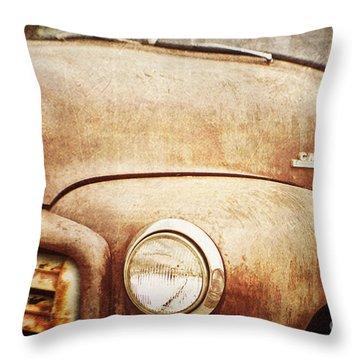 GMC Throw Pillow by Scott Pellegrin